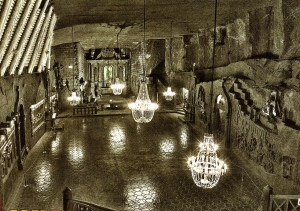 Underground St Kinga's Chapel in the Salt Mine!