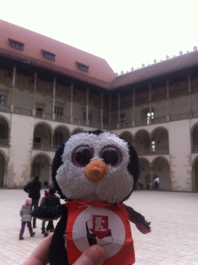 Polo was at Wawel Castle in Krakow!!!