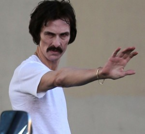 Matthew McConaughey as Ron Woodruff in Dallas Buyers Club