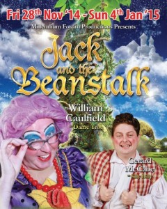 Millennium forum Panto, from now-4th Jan